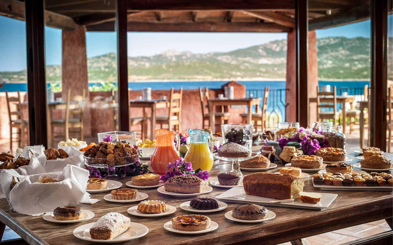 Sweets at Hotel Relais Villa Del Golfo & Spa