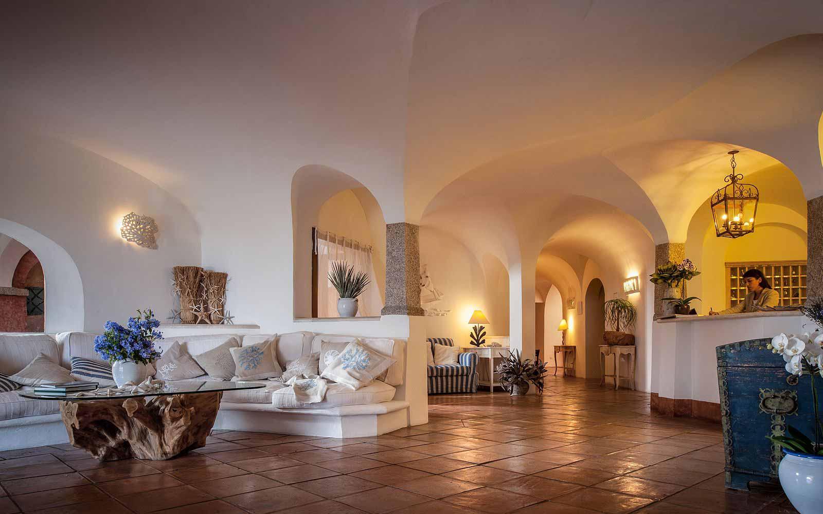 Reception at Hotel Relais Villa Del Golfo & Spa