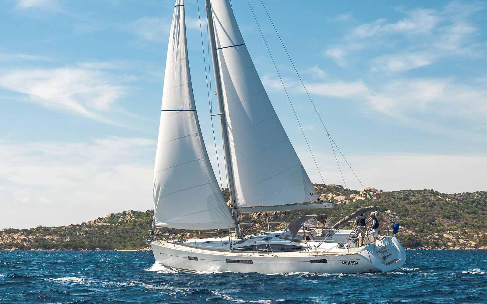The Hotel Relais Villa Del Golfo & Spa's private sailing yacht 'BonAria'