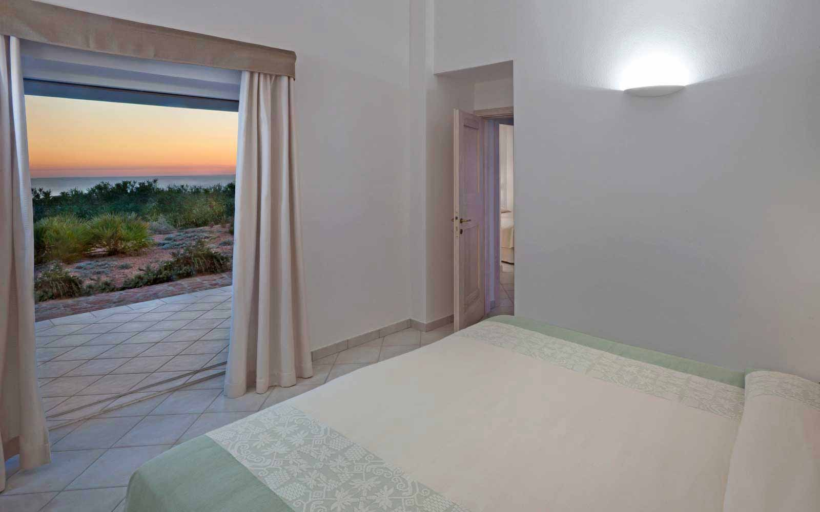 Double room of Torre Canneddi at Torreruja Villas