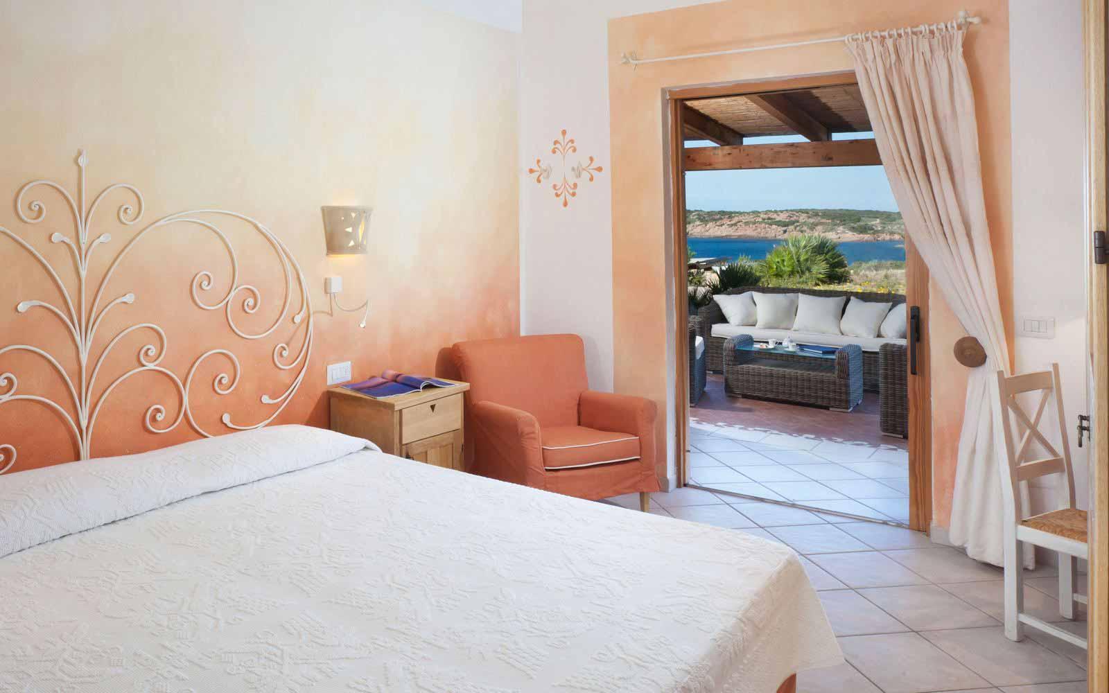 Olivastri bedroom at Torreruja Villas