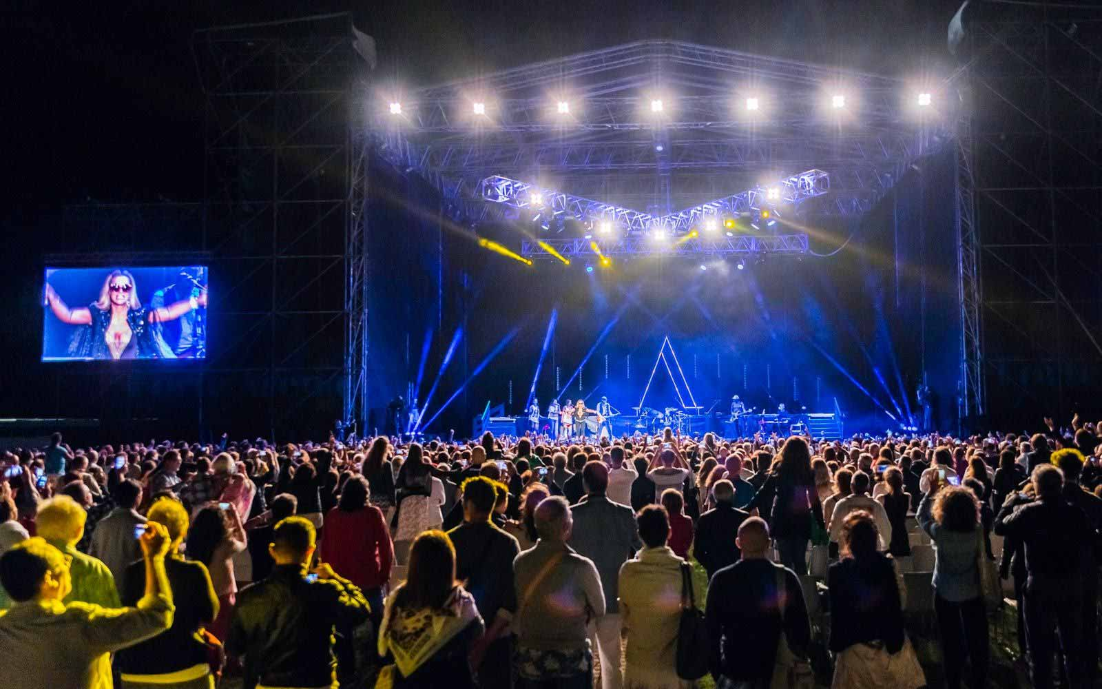 Big concerts at the Forte Village Resort