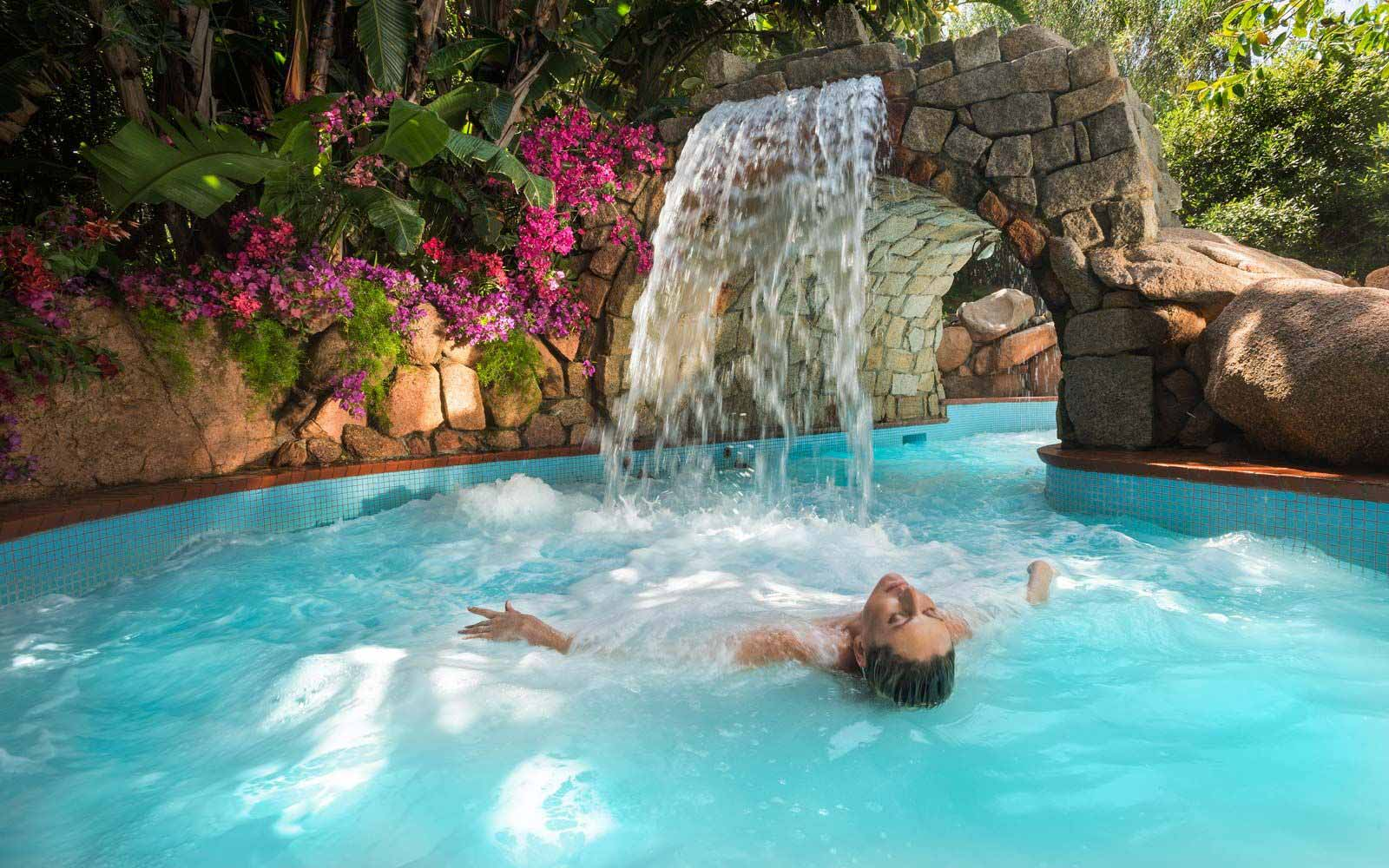 Acquaforte spa at the Forte Village Resort