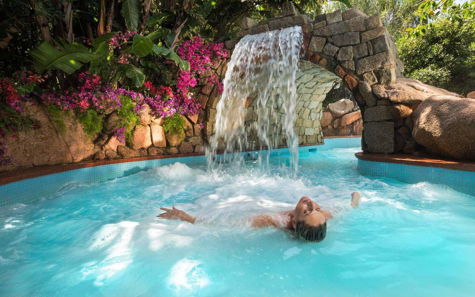 Acquaforte spa at the Forte Village Resort