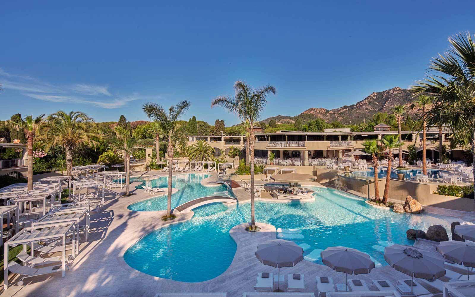 Oasis pool at the Forte Village Resort
