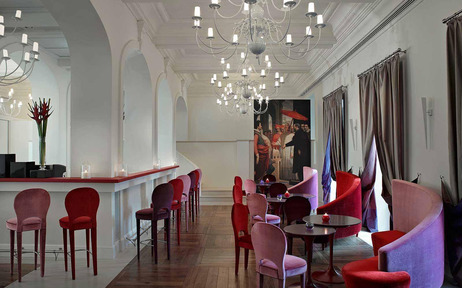 Bar at Gran Melia' Rome