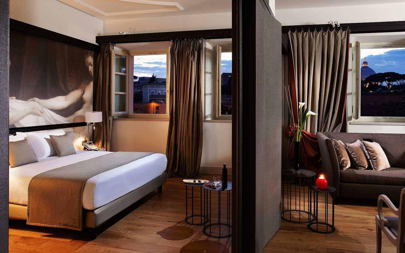 The eternal city suite at Gran Melia' Rome