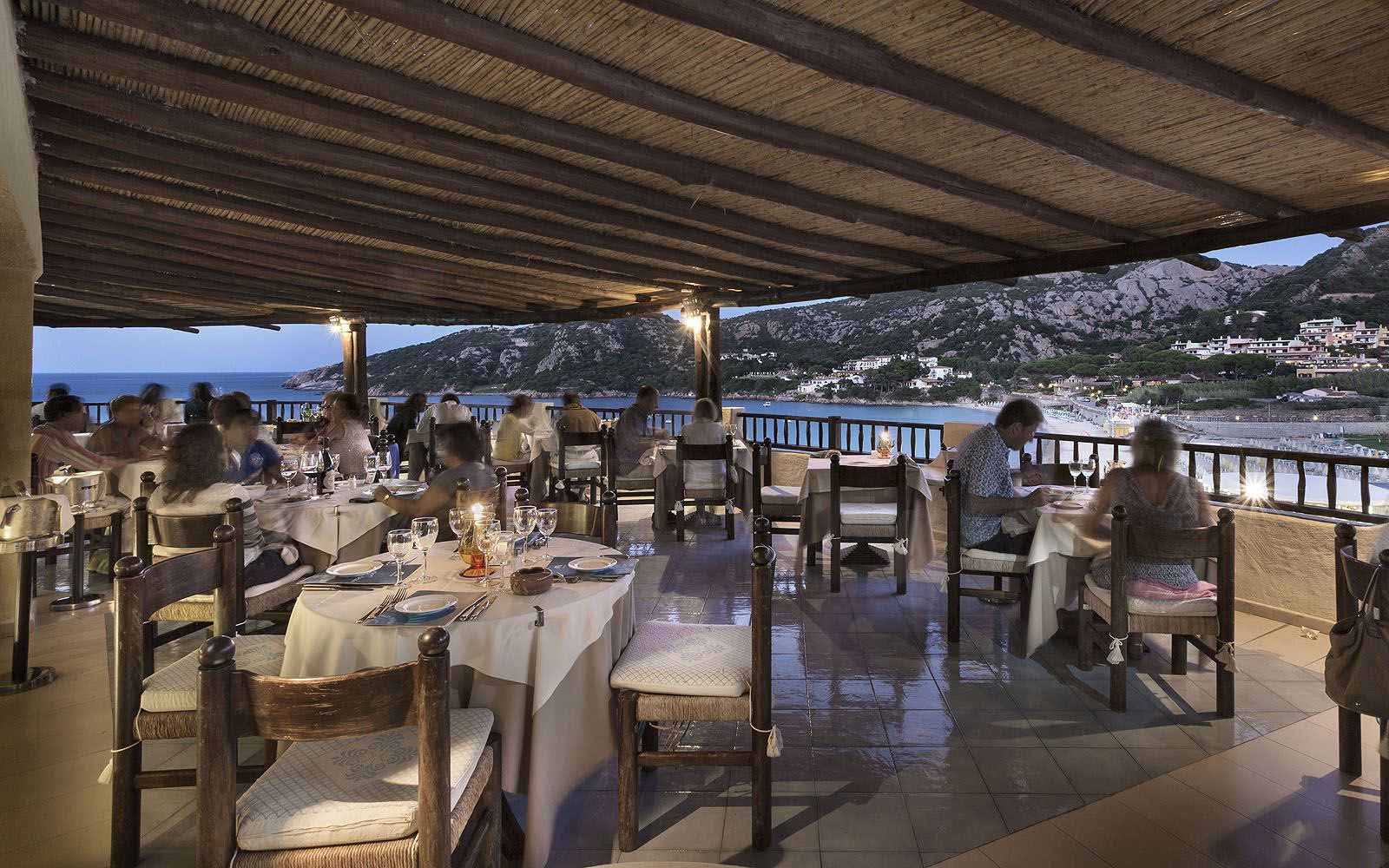 Casablanca Restaurant gourmet at Club Hotel