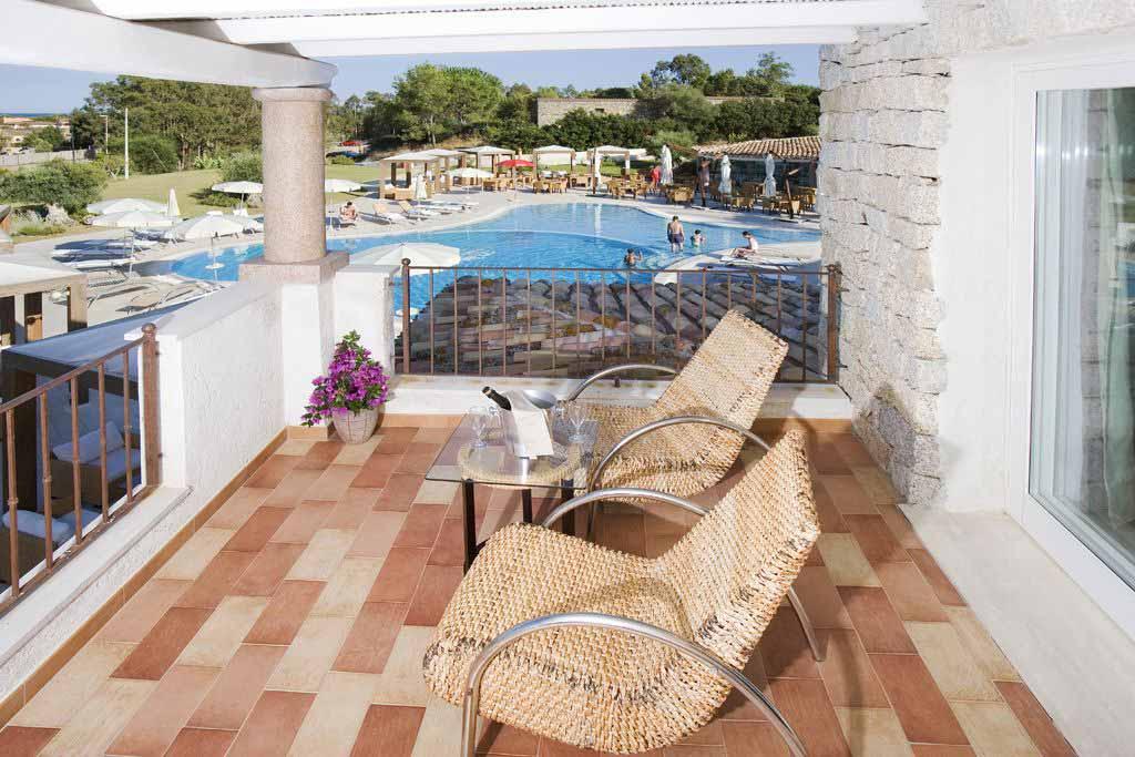 Room terrace at Hotel Villas Resort