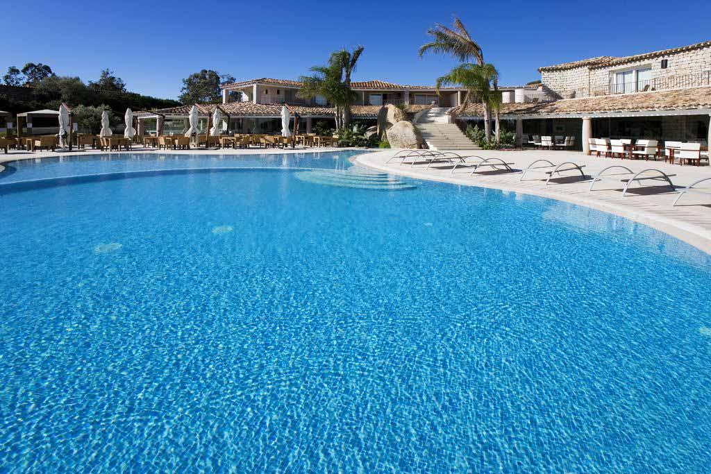 Pool view at Hotel Villas Resort