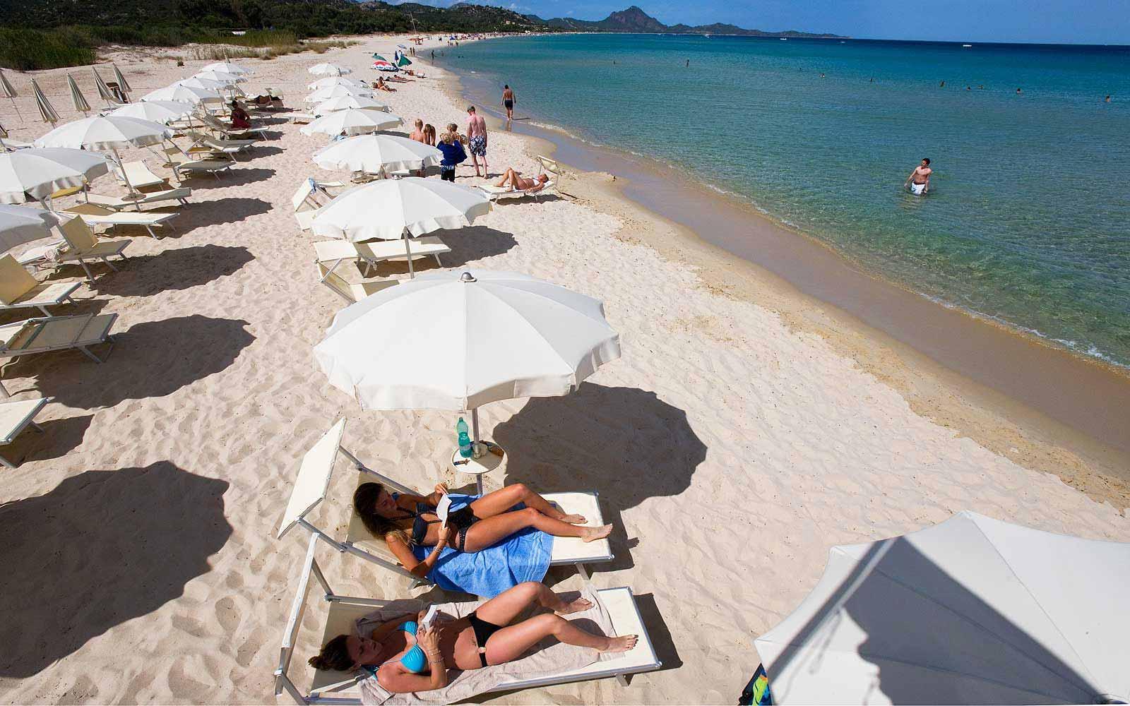 Beach at Hotel Villas Resort