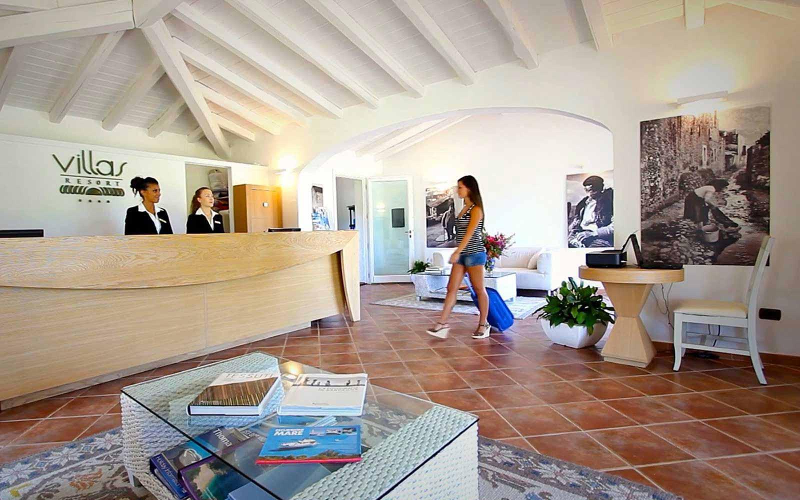 Reception at Hotel Villas Resort
