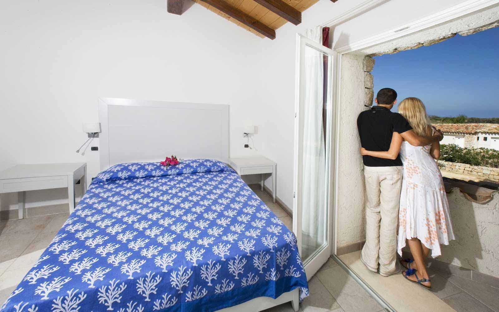 A bedroom in Villa Orchidea e Villa Asparago at Hotel Villas Resort - Villas