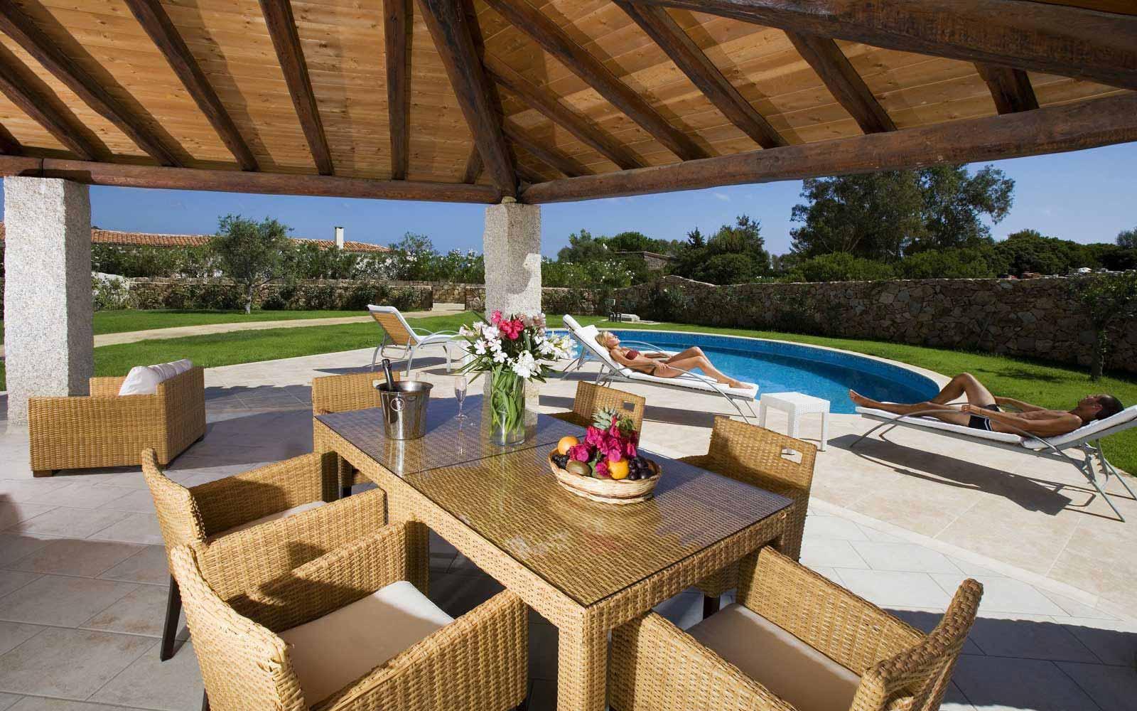 Villa Orchidea e Villa Asparago's's patio at Hotel Villas Resort - Villas