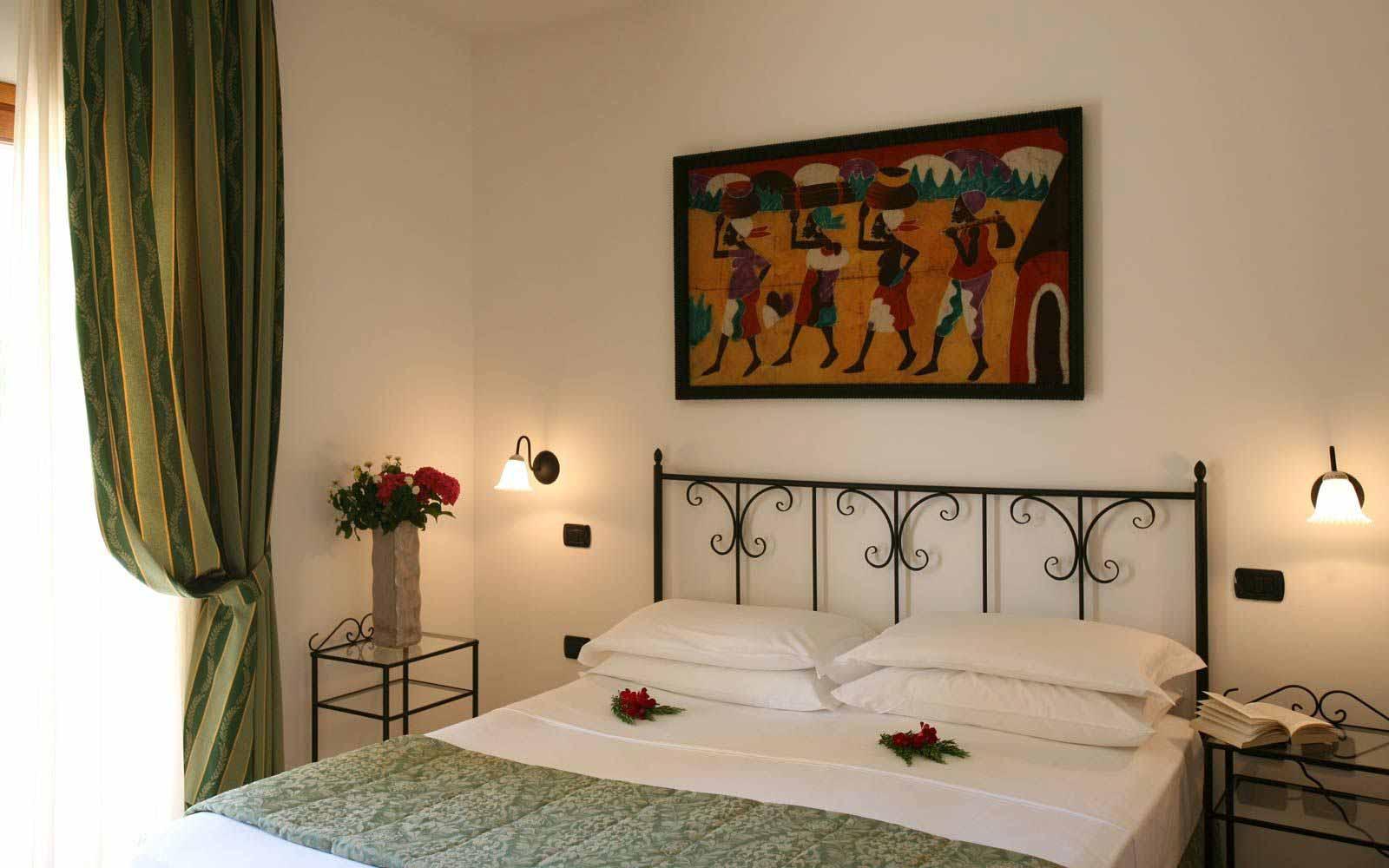 Double room at Blu Hotel Morisco