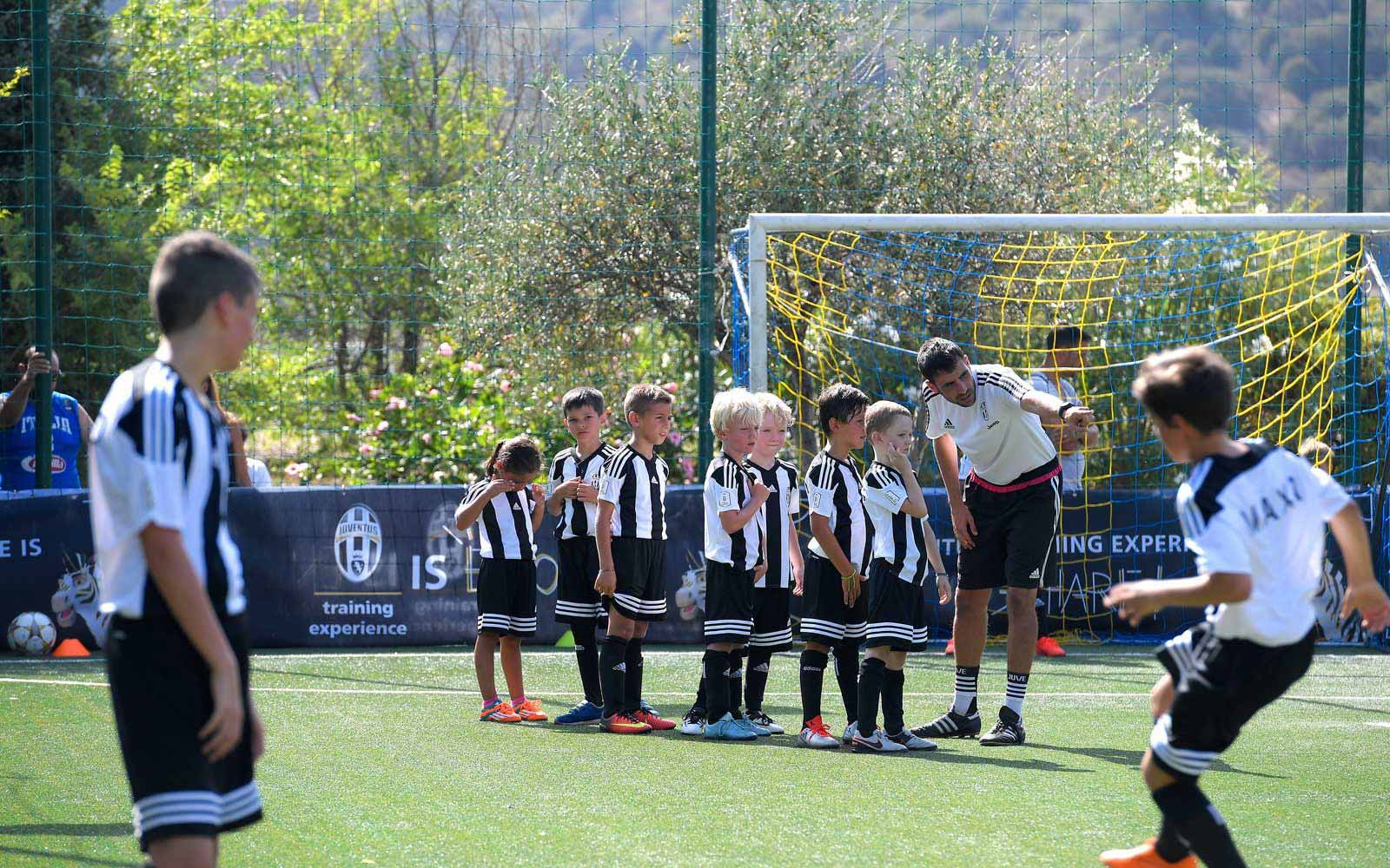 Football academies at the Chia Laguna Resort