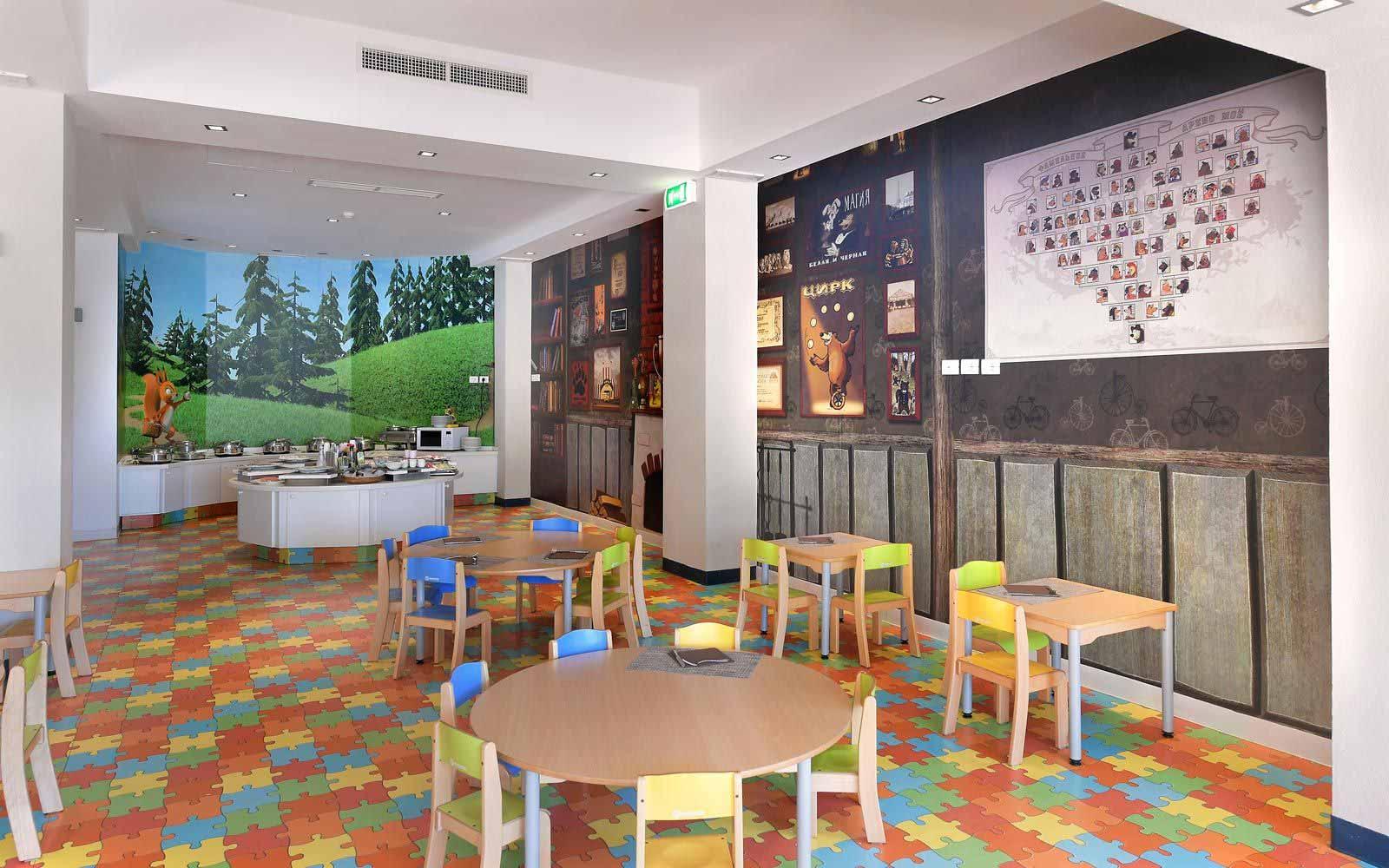 Bimbi restaurant at the Chia Laguna Resort