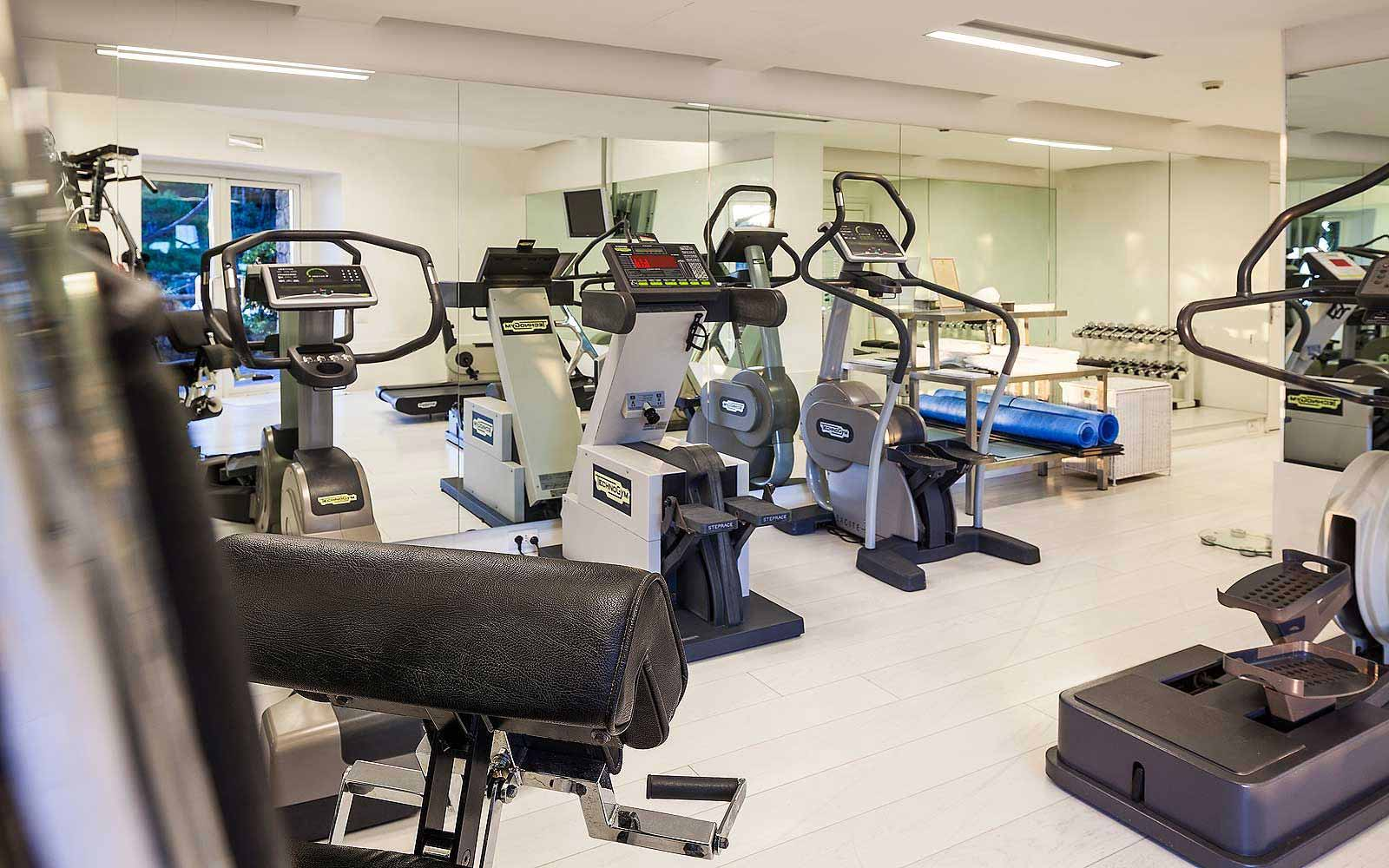 Gym at Mezzatorre Resort & Spa