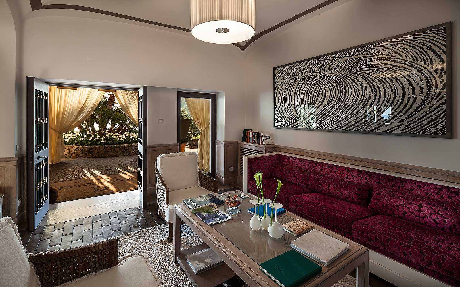Reception at Mezzatorre Resort & Spa