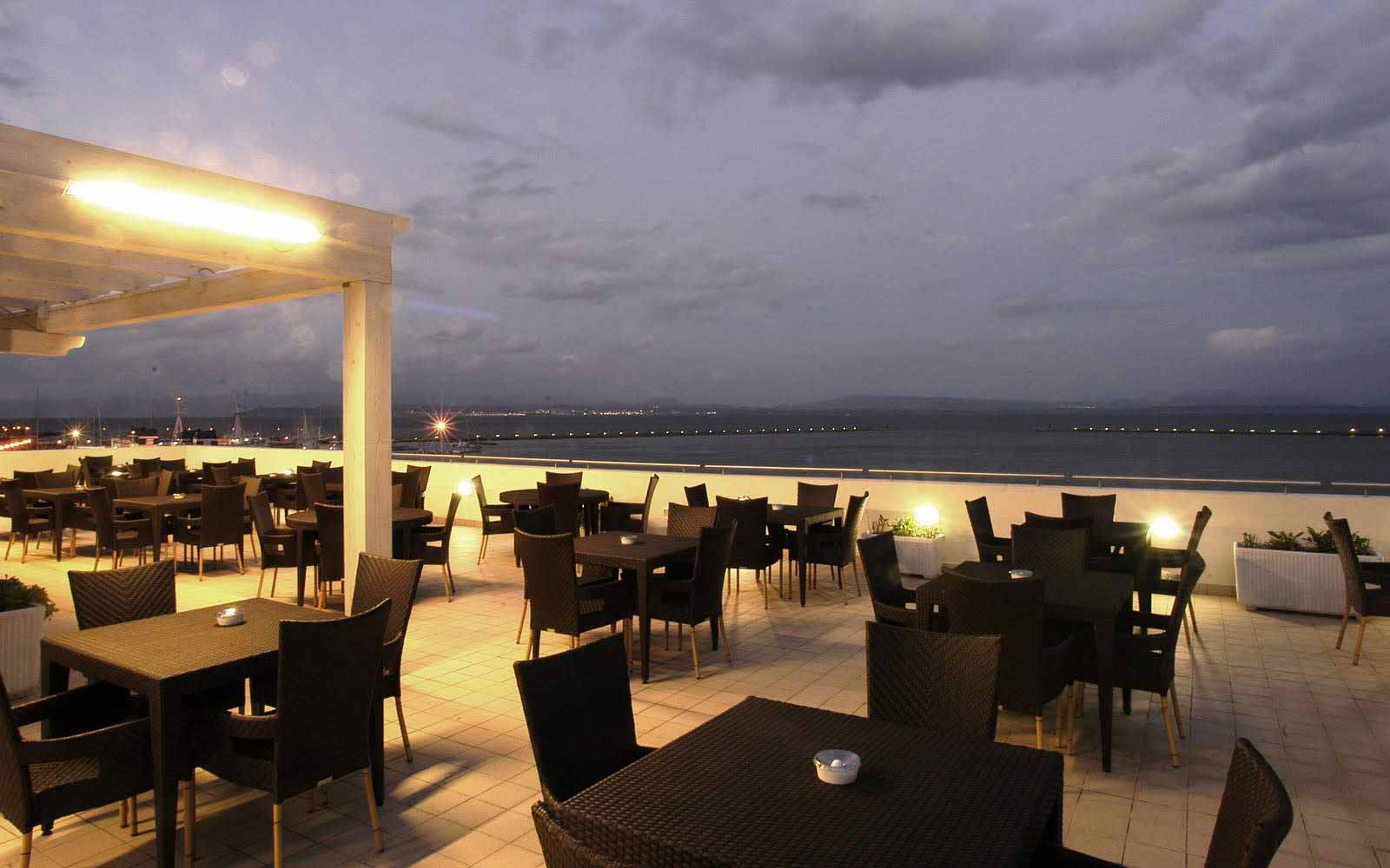 Terrace at Hotel Riviera