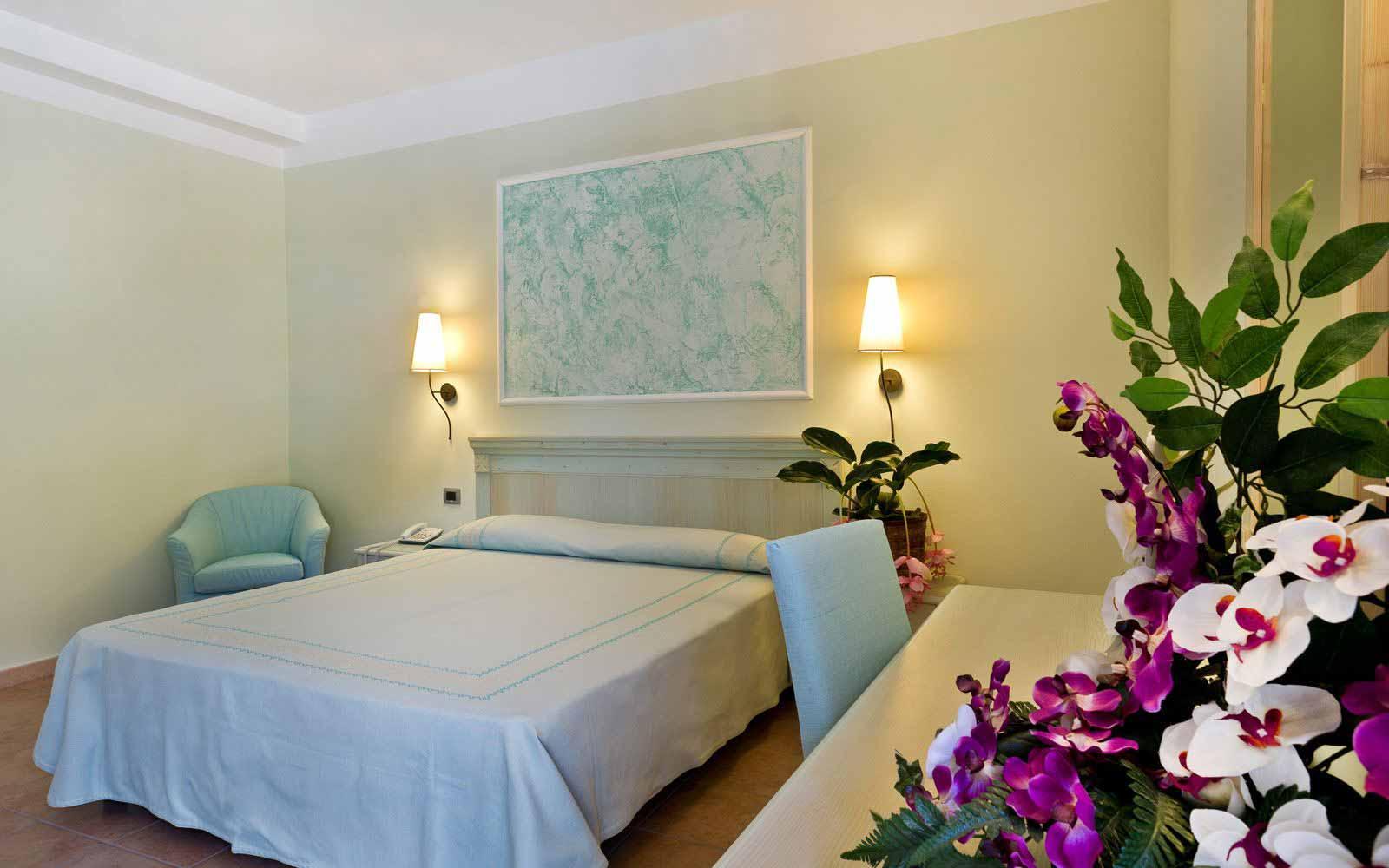 Double bedroom at Hotel Brancamaria
