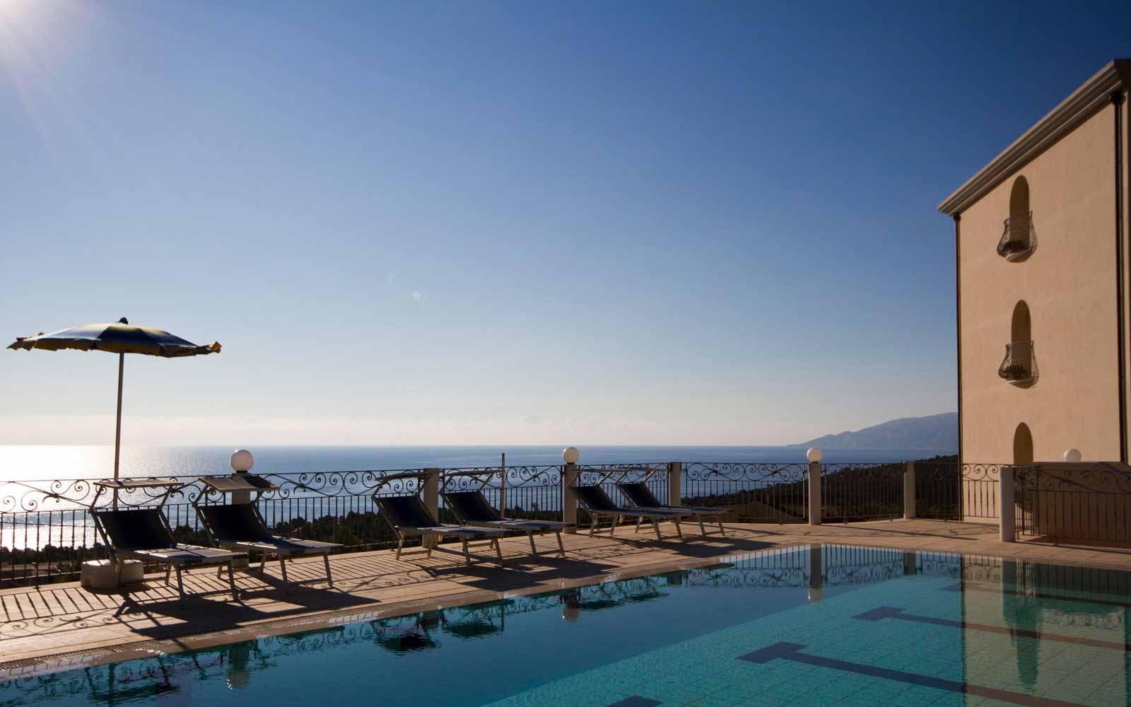 Panoramic view from Hotel Brancamaria