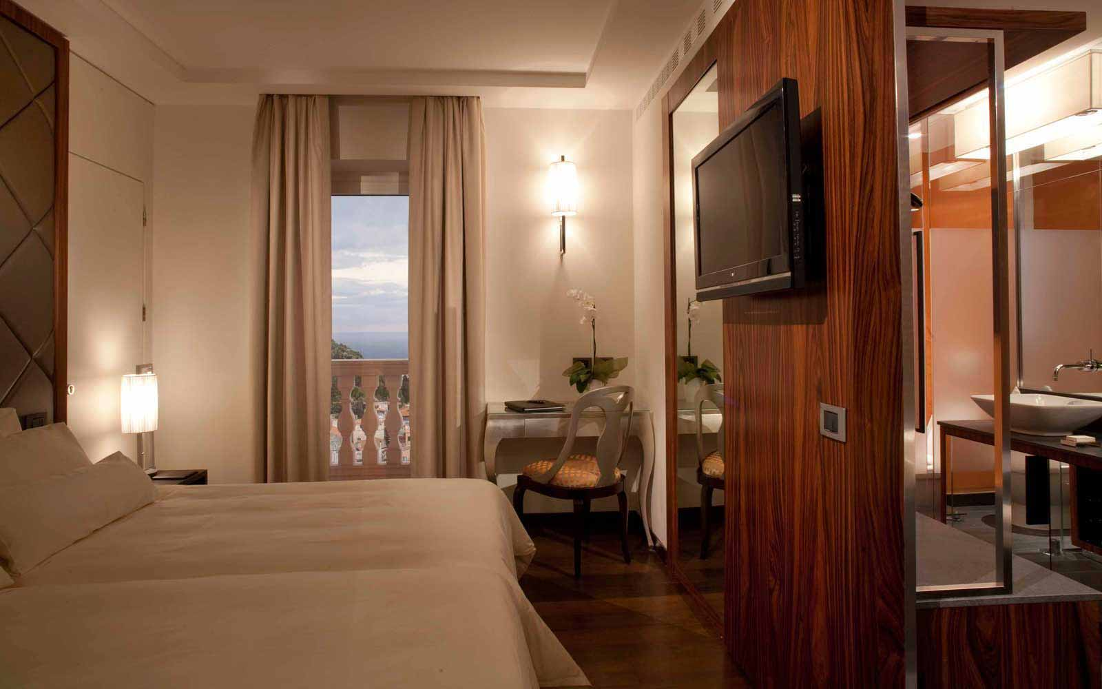 Superior sea view room at NH Collection Taormina
