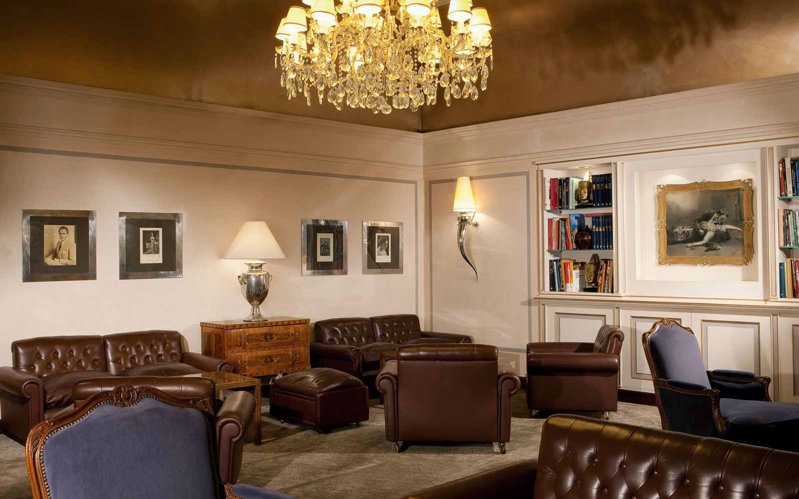 Lounge at Hotel Accademia