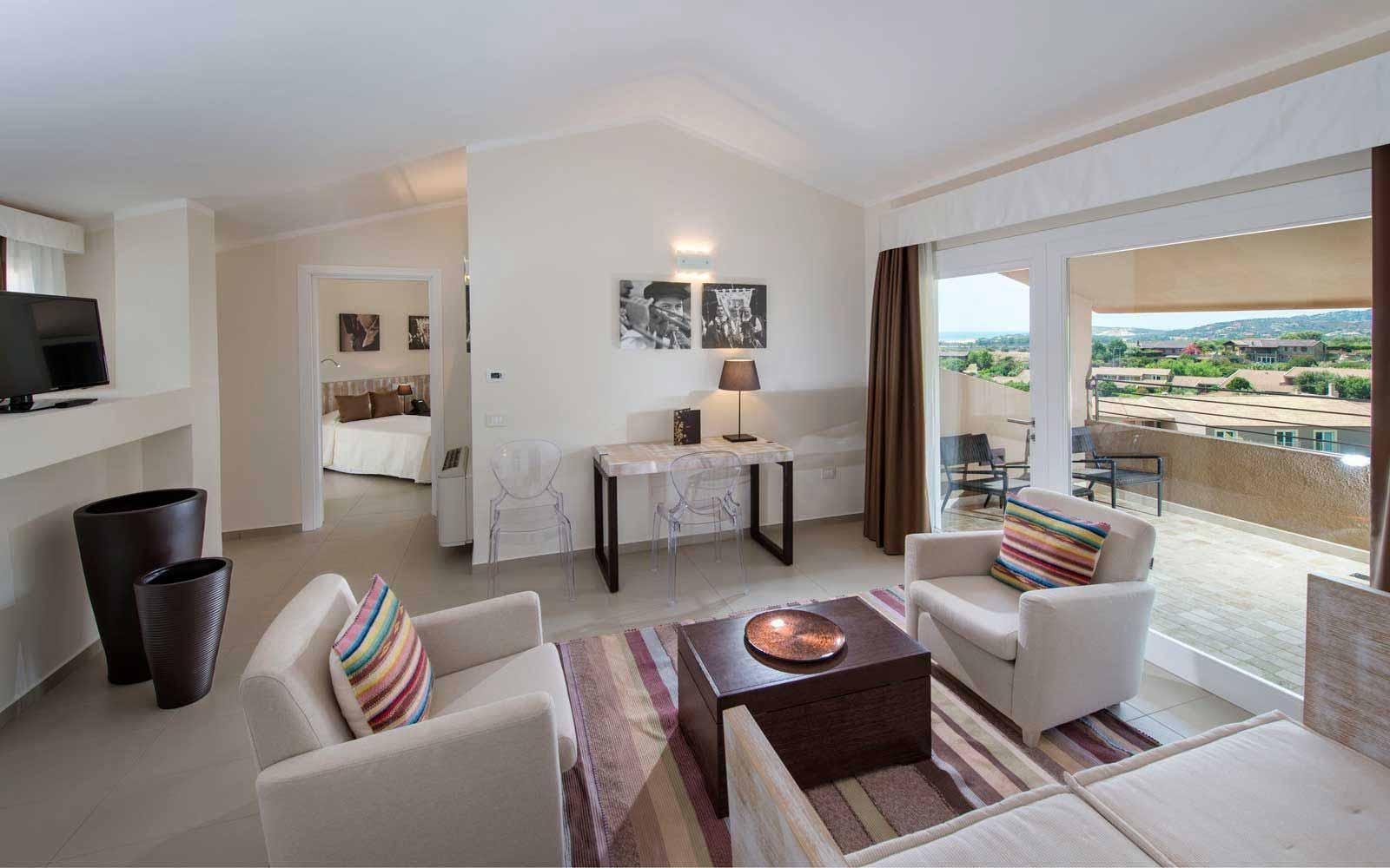 Oasi balcony suite at Spazio Oasi