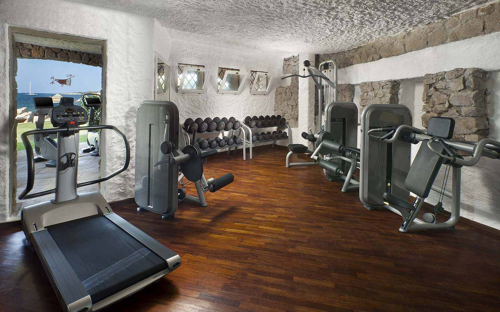 Fitness Centre at the Hotel Pitrizza