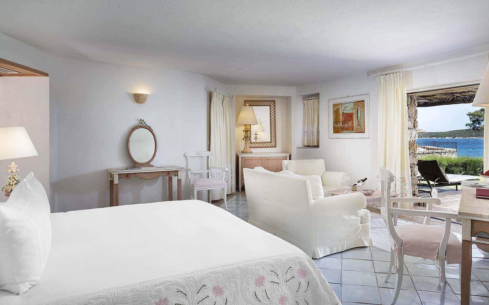A Premium Room at the Hotel Pitrizza
