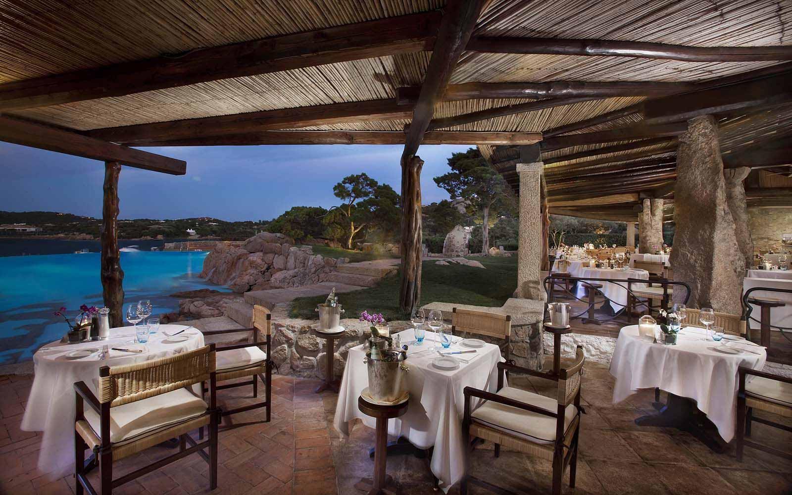 Pitrizza Restaurant at the Hotel Pitrizza