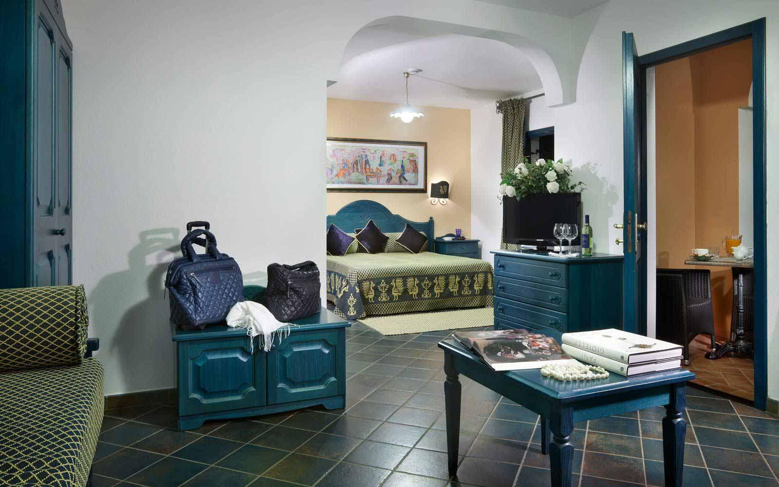 Junior suite at Cala Ginepro Hotel Resort