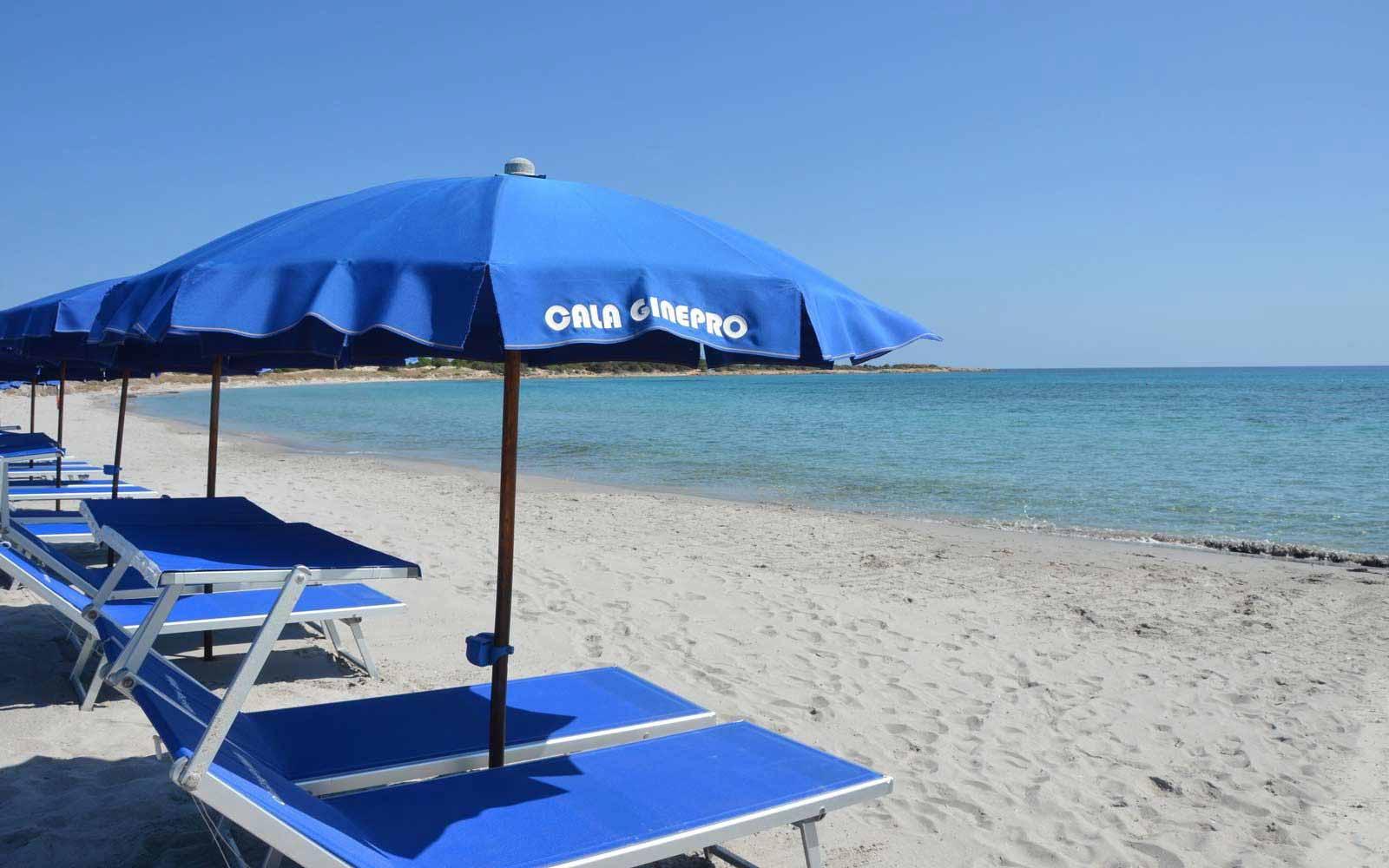Beach at Cala Ginepro Hotel Resort