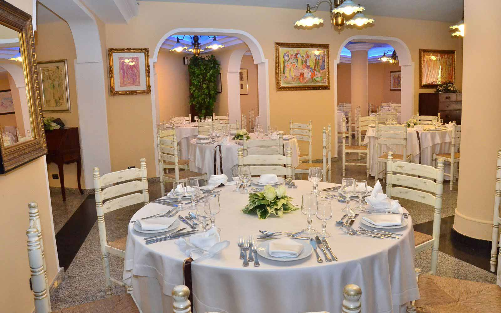 Restaurant at Cala Ginepro Hotel Resort