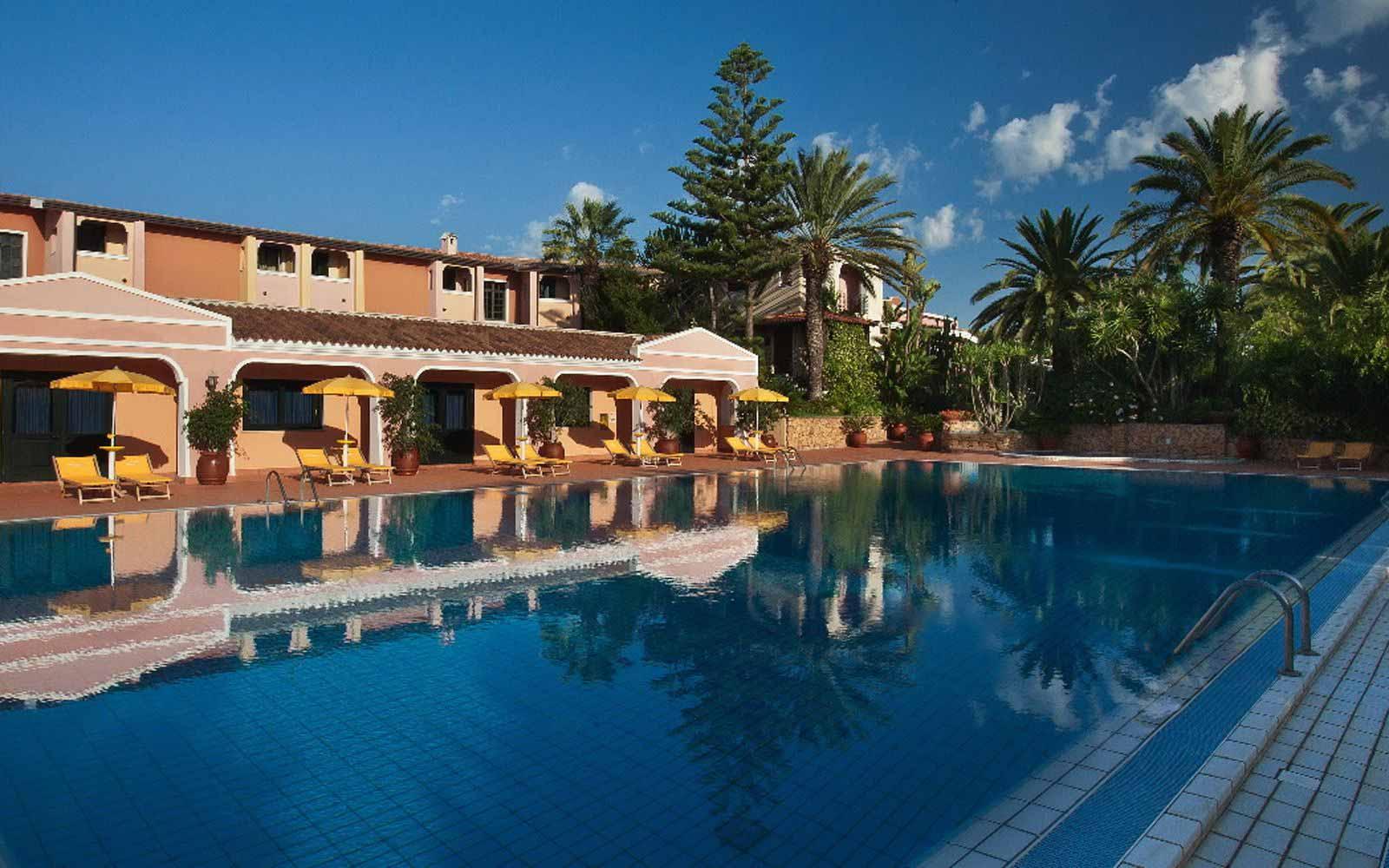 Swimming Pool of Cala Ginepro Hotel Resort