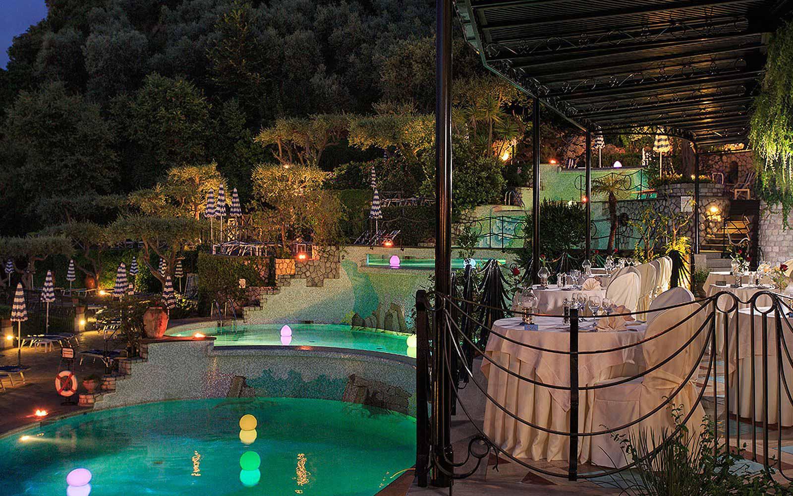 Bellevue Restaurant at the Grand Hotel Capodimonte
