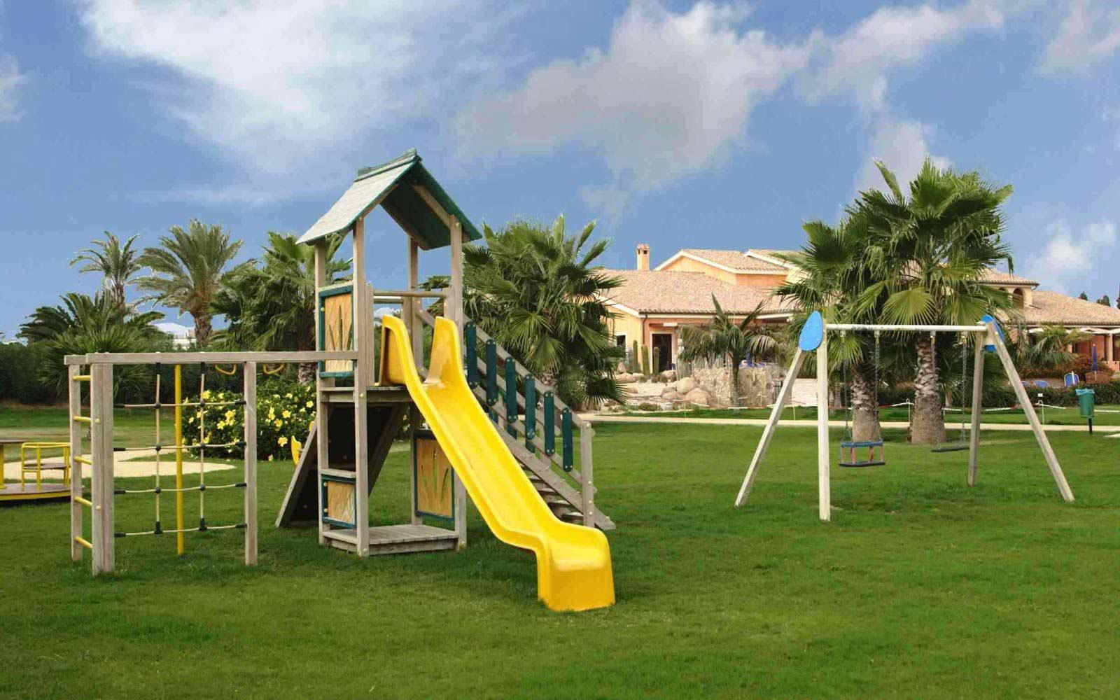 Children playground at Lantana Resort