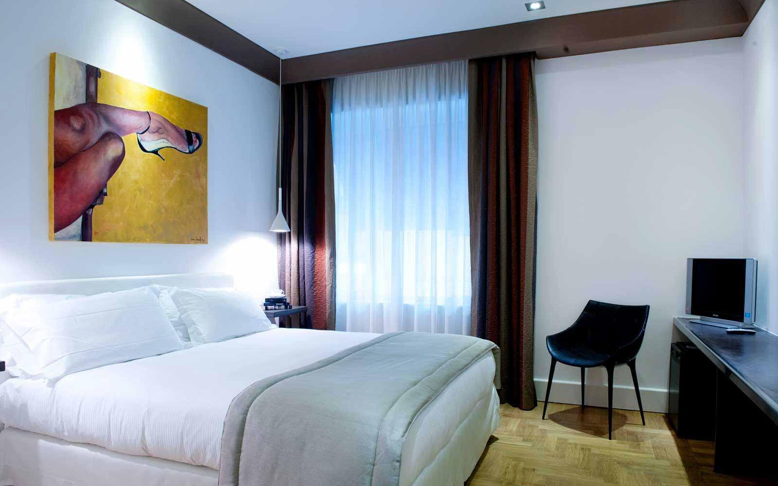 Deluxe room at Hotel Principe Di Villafranca