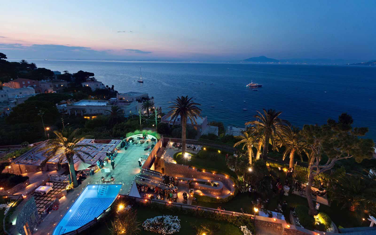 Overview of Villa Marina Capri Hotel & Spa