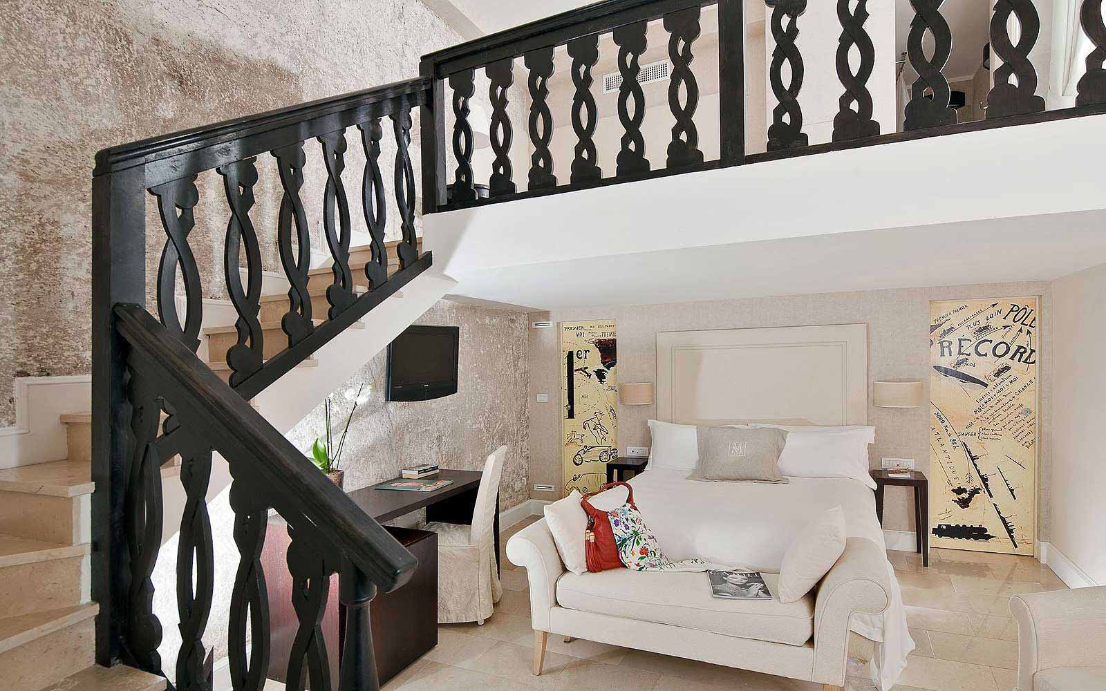 Pool suite at Villa Marini Capri Hotel & Spa