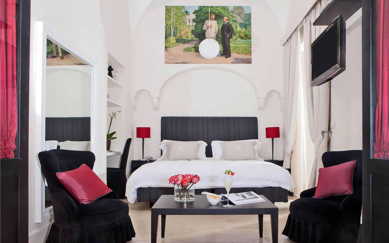 Deluxe room at Villa Marini Capri Hotel & Spa