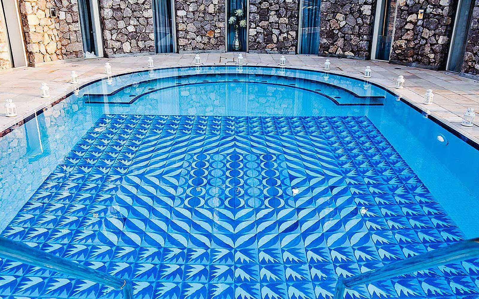 Swimming pool at Villa Marini Capri Hotel & Spa
