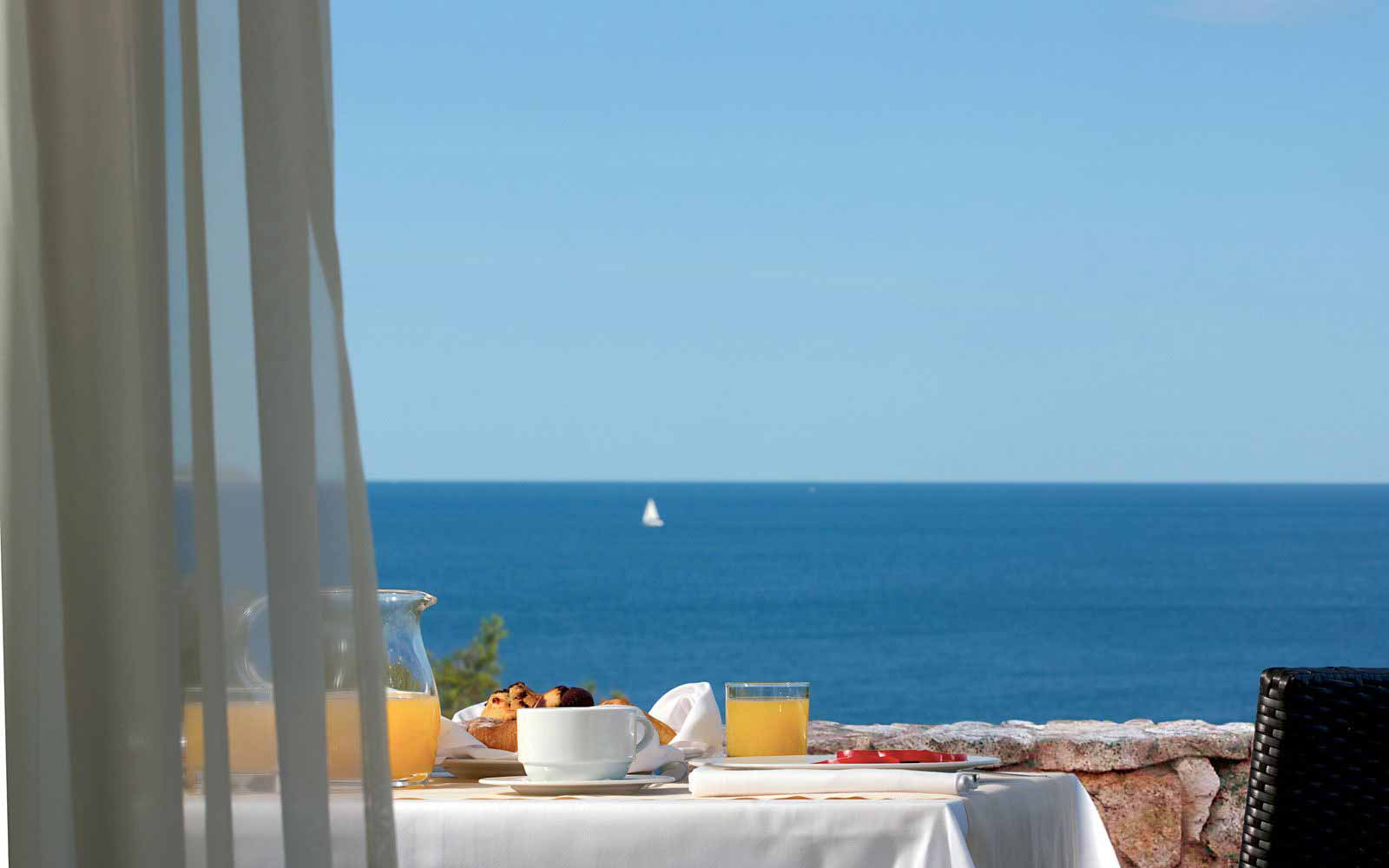 Breakfast at Arbatax Park Resort - Hotel Monteturri