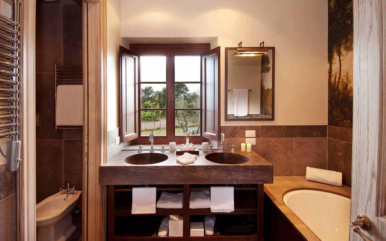 Bathroom at Villa Lavanda