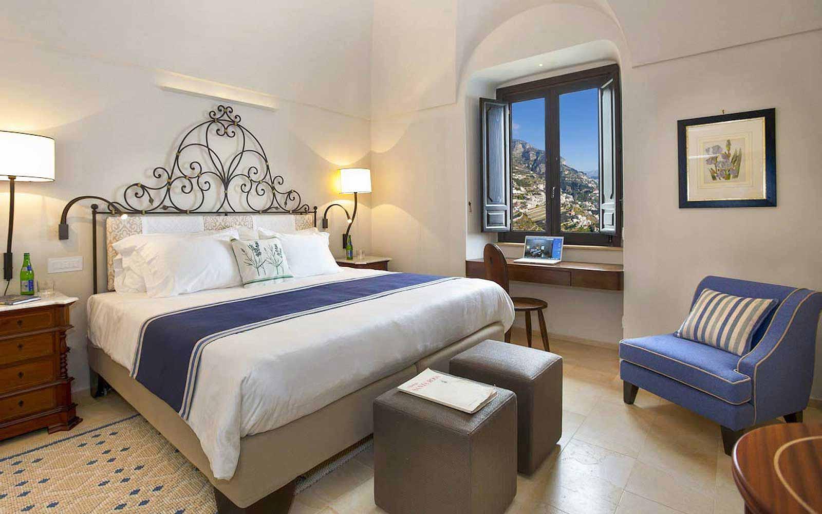 Superior room at Monastero Santa Rosa