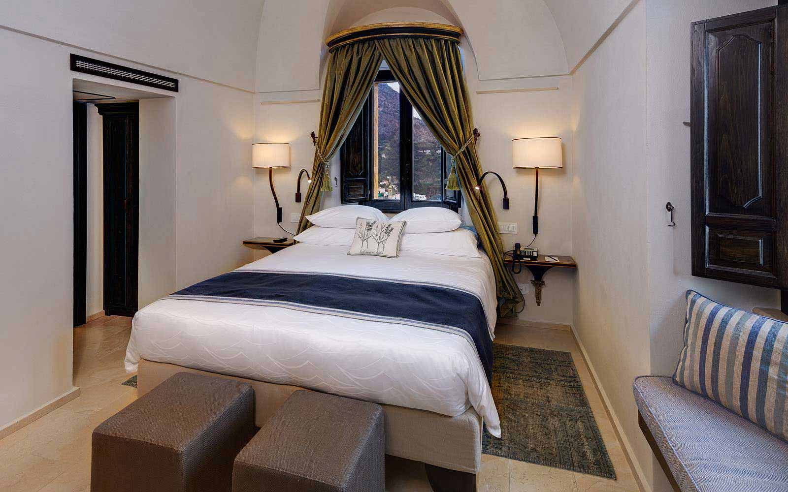Superior suite at Monastero Santa Rosa