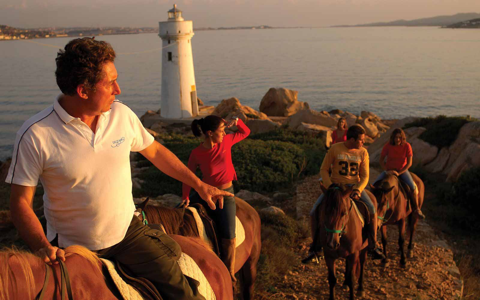 Horse riding at Park Hotel & Spa Cala di Lepre