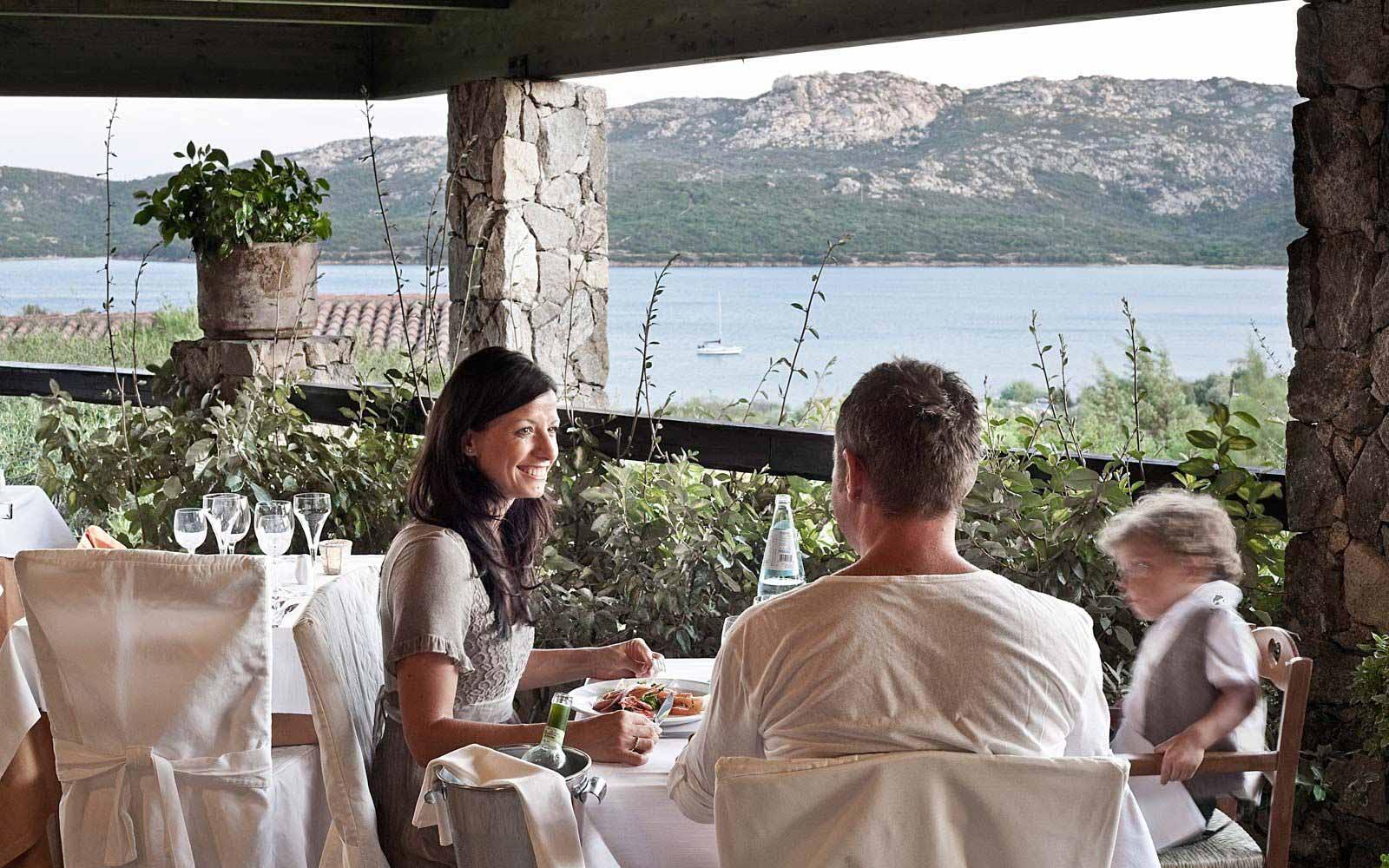 Le Terrazze restaurant at Park Hotel & Spa Cala di Lepre
