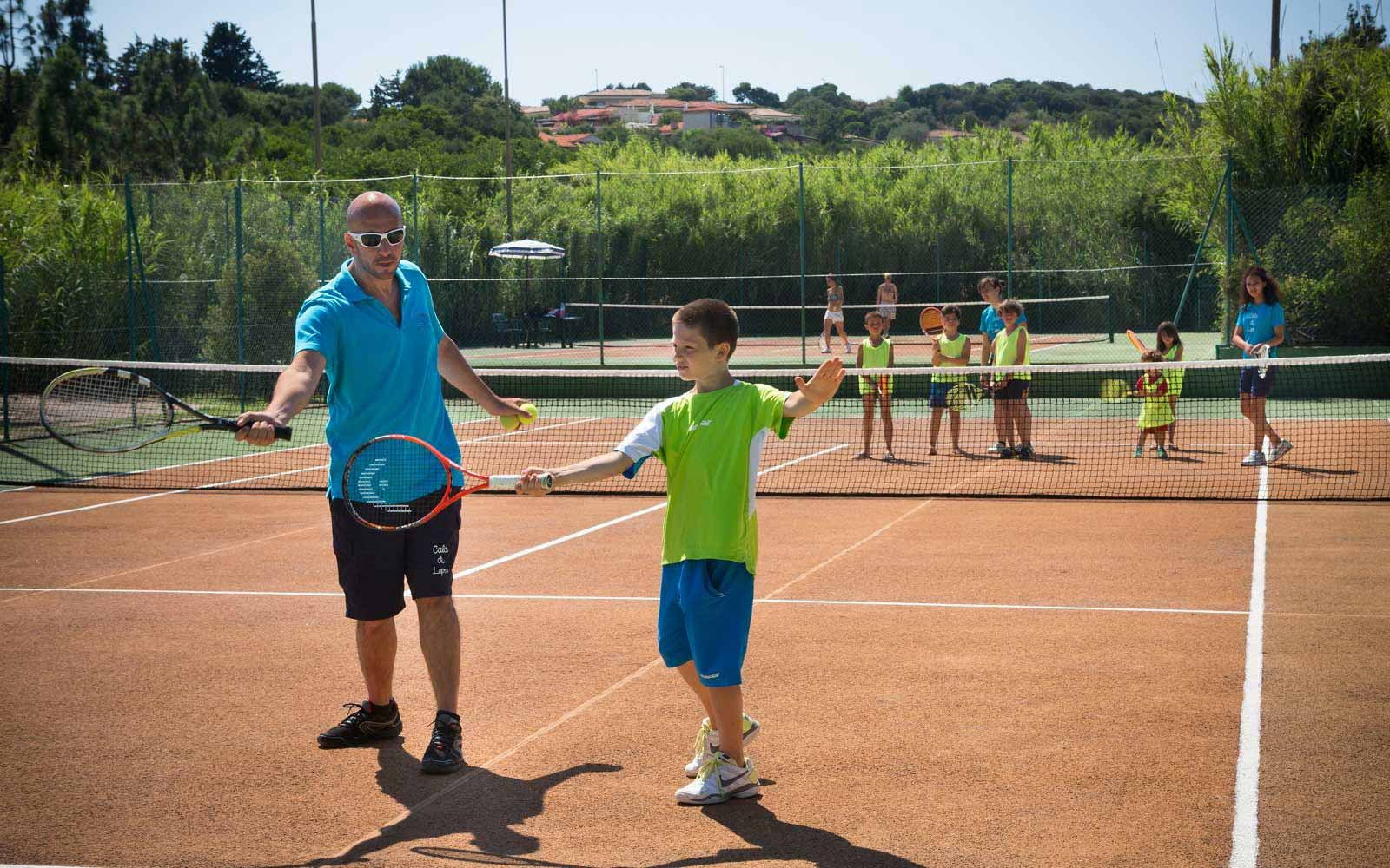 Tennis lessons at Park Hotel & Spa Cala di Lepre
